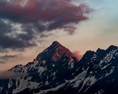 Fading Light (ramvogel) Tags: sony a6300 sony18105mm clouds mountain sunset switzerland snow sky