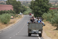 Workers, Morocco (Mirko'92) Tags: workers travel people street tir truck danger transports morocco africa berber