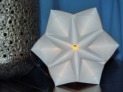 Sonobe Stars -Sun Star Variation 2 (pia miller) Tags: origami paperart sonobe star