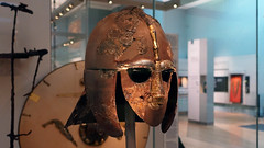 Sutton Hoo helmet (profzucker) Tags: sutton hoo suttonhoo shipburial hibernosaxon treasure britishmuseum bm england uk britain eastanglia king royal trade smarthistory art jewelry medieval middleages migrations history arthistory
