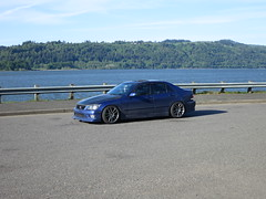 IMG_2378 (gold94corolla2) Tags: is300 lexus oregon scenery road trip roadtrip chargespeed work kiwami cr ultimate water camber flush fitment slammed lowered greddy front lip