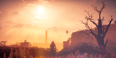 Horizon Zero Dawn (Omegapepper) Tags: wallpaper screenshot screenarchery gaming games gametography horizon zero dawn colorful sunset sunshine tree ps4 ps4share pro virtual digital photography photomode 4k