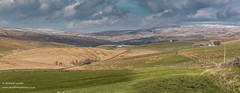 Harwood Panorama Apr 2019 (Richard Laidler) Tags: aonb agriculture areaofoutstandingnaturalbeauty bright buildings clouds cold countydurham earlyspring farmland fell fells fine globalgeopark harwood hill hillfarms hills hillside landscape moor moorland moors northeastengland northpennines northpenninesaonb panorama panoramic pennine shadows snow sunny sunshine teesdale upland upper upperteesdale whitewashed