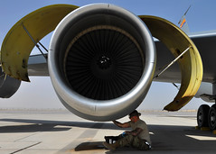 190404-F-TQ740-014 (U.S. Department of Defense Current Photos) Tags: airforce afghanistan operationfreedomssentinel resolutesupport kc135 455thaew 455thairexpeditionarywing kandahar maintenance aircraft refueling af
