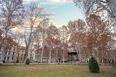 Zrinjevac Park in Zagreb (Yvan Rouxel) Tags: cityofzagreb croatia january wpcroatia winter zagreb zrinjevacpark hrv