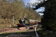 Dean Forest Railway (Martin Creese) Tags: 5541 nikon d90 april 2019 sunny railway photography dean forest