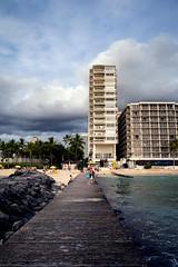 Waikiki Jetty (Photos By Dlee) Tags: sonyalphaa7iii sonya7iii sonya73 sony sonyalpha mirrorless fullframe fullframemirrorless tamron2875mmf28diiiirxd tamron zoom tamron2875mmf28 photo photosbydlee photography autumn hawaii honolulu travel