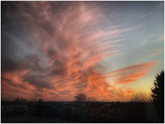 Beautiful South (Andy Stones) Tags: sunset sunlit sunlight clouds cloudscape sky skywatching weather weatherwatch colour colourful scenic image imageof imagecapture nature naturephotography naturelovers natureseekers scunthorpe lincolnshire northlincs northlincolnshire nlincs photoof photography