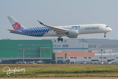 B-18918 (yutsungliang) Tags: airbusa350941 airbus a350941 a350 a359 chinaairlines carbonfibre b18918