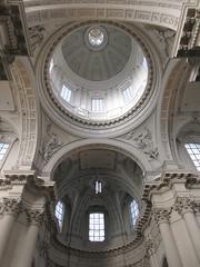 Dome and vaulting of transept, Cathédrale Saint-Aubain, Namur, Belgium (Paul McClure DC) Tags: namur namen belgium belgique wallonia wallonie ardennes feb2018 cathedral historic architecture