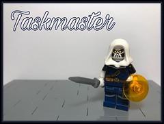 """Marvel Fig Barf #25: """"Taskmaster"""" (-InsomniCat-) Tags: taskmaster spiderman lego marvel comics villains superhero hero"""