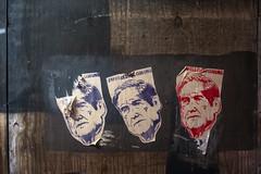 Muellers Coming (Mike J Maguire) Tags: washingtondc asahitakumar35mmf2 robertmueller donaldtrump trump russia streetart