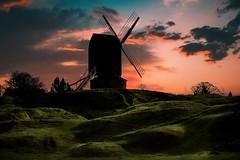 End of a perfect day! Brill Post mill Buckinghamshire Walk184 (Glenn Birks) Tags: brill buckinghamshire england sunset aylesbury post mill