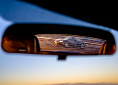 Morning Drive (LXG_Photos) Tags: auto car reflection miata mirror rearview