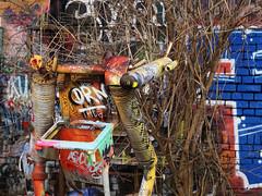 Leipzig - Plagwitz - Kunst (ingrid eulenfan) Tags: leipzig plagwitz streetlife art kunst graffiti