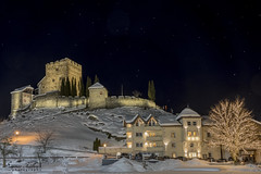 Burg Laudeck (siegmarkälberer) Tags: burg laudeck nacht nachtfotografie ladis night castle architektur architecture