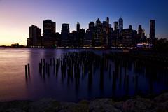 New York 2019 IMG_7059.CR2 (Daniel Hischer) Tags: architecture bluehour brooklyn brooklynbridgepark city downtown dusk manhattan newyork newyorkcity nyc skylineskyscraper skyscraper sunset usa