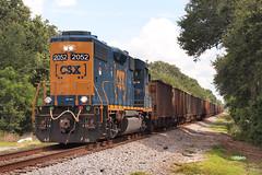 170708_02_CSXT2052_coleman (AgentADQ) Tags: csxt 2052 csx tranportation coleman florida train trains freight railroad railfanning