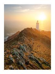 Start Point Sunrise (Rich Walker Photography) Tags: lighthouse sea coast sunrise morning dawn coastline coastal devon seascape seascapes landscape landscapes landscapephotography canon startpoint rock cliffs cliff england efs1585mmisusm eos eos80d