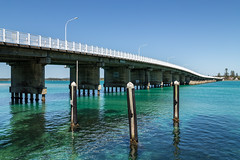 Forster/Tuncurry Bridge (dean.white) Tags: australia au newsouthwales nsw greatlakes greatlakesnsw forster forstertuncurrybridge bridge river wallislake capehawkeharbour bluewater canoneos6d canonef24105mmf4lisusm