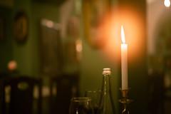 candle light dinner (Rafael Zenon Wagner) Tags: bokeh dof candle light kerze licht 40mm 14 mood stimmung