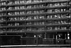 C36-3 1975 Brutalism (hoffman) Tags: housing architecture brutalist brutalism city urban london outdoors street barbican brunswickcentre londonwall concrete davidhoffman wwwhoffmanphotoscom