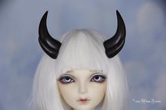 Doubled horns MSD (AnnaZu) Tags: doubled horns msd sircca minifee fairyland bjd abjd balljointed doll polymer clay accessoires
