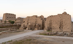 Eighth Pylon, Karnak [Explore] (Rambo2100) Tags: karnak eighthpylon queen hapshepsut tuthmosis amenhotep king pharoah egypt luxor thebes ruin temple rambo2100 limestone quartzite statue colossi unesco معبدالكرنك tamerashour ayam