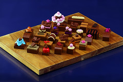Chocolate Surprise (Frost Bricks) Tags: lego chocolate moc food yummy bricks