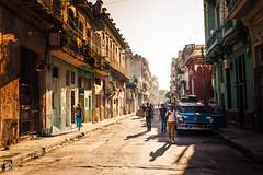 Regular afternoon in old part of Havana, Cuba (Nick Sloter) Tags: havana habana cuba nikon travel holiday street city streetlife oldcity oldtown habanaviejo travelphotography d750 nikond750 sigma sigma35mm caribbean summer