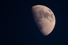 The Moon (Mikon Walters) Tags: moon lightroom nikon d5600 sigma 150600mm super zoom lens photography close up edited space planets planet solar system orbit orbiting orbits earth sky contemporary