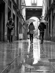 Lloviendo (vitometodio) Tags: lluvia rain raining reflejos reflection callejeando streetphoto streetphotography bnw bnwcity bnwlife urbanphotography fotografiaurbana streetshots street fotodecalle streetphotobw calle blancoynegro urbanstreet blackandwhite bnwphoto bnwglobe bnwplanet streetshot bcn olympus blackandwhitephotography vitometodio olympusomdem5markii olympusmzuikodigitaled1240mmf28