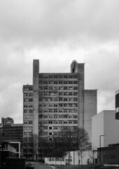 MSS tower (JacobRKennedy) Tags: omdem10 omdem10mkii manchester mcruk mcr architecture bandw bnw blackandwhite