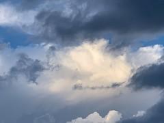 Clouds Over Plano (Bernie Emmons) Tags: sky clouds rain hail