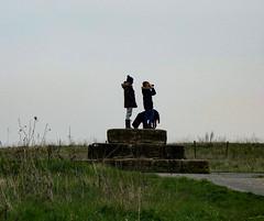 Ingrebourne Hill (London Less Travelled) Tags: uk unitedkingdom britain england london essex havering hornchurch rainham city suburb suburban outskirts ingrebourne park country hill people dog