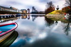 Cityscape (Maria Eklind) Tags: banérskajen sweden fiskehoddorna malmö cityscape sky skånelän sverige se