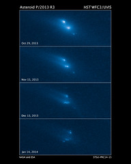 Disintegrating Asteroid P/2013 R3 (NASA Hubble) Tags: hubblespacetelescope hubble solarsystem nasa astronomy space cosmos asteroid p2013r3