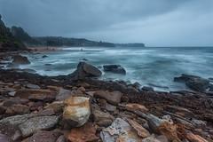 Newport Sunrise 2 (RoosterMan64) Tags: australia beach dawn landscape longexposure nsw newport rockpool rockshelf seascape