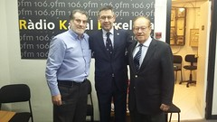 2019.02.13- Josep Maria Bartomeu, LLuis Lorente y Manuel Matellan