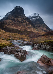 The Three Sister, Glencoe - Feb 2019 (Stu Meech) Tags: glencoe three sisters river valley waterfall scotland nikon d750 1635 leefilters