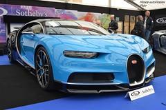 Bugatti Chiron 2018 (Monde-Auto Passion Photos) Tags: voiture vehicule auto automobile bugatti chiron coupé sportive hypercar rare rareté bleu blue supercar vente enchère sothebys france paris vauban