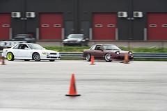 Catch Up (Find The Apex) Tags: nolamotorsportspark nodrft drifting drift cars automotive automotivephotography nikon d800 nikond800 nissan 240sx nissan240sx s13 tandemdrift tandem tandemdrifting tandembattle