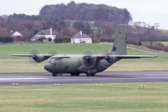 ZH888 C-130J Hercules C5 RAF Prestwick 04.03.19 (Robert Banks 1) Tags: zh888 lockheed martin c130j c30j hercules c5 raf royal air force prestwick egpk pik