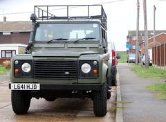 L641 HJD (Nivek.Old.Gold) Tags: 1994 land rover defender 110 tdi county station wagon 2495cc