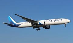 9K-AOF Boeing 777-369ER Kuwait Airways (R.K.C. Photography) Tags: 9kaof boeing 777369er b777 kuwaitairways aircraft aviation airliner london england unitedkingdom uk londonheathrowairport lhr egll canoneos100d