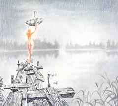 NewFaith (Sergei U. Rukavishnikov) Tags: surrealism surreal drawing coloured colored pencil cardboard art