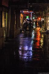 (kayters) Tags: rain raining wet umbrella winter february newyorkcity newyork eastcoast kaytedolmatchphotography kathleendolmatch explore travel adventure nightphotography canon cityscape portrait citylights colorful colors streetphotography