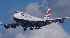 G-CIVW Heathrow 14-03-19 (IanL2) Tags: britishairways boeing 747 jumbo gcivw airliners aircraft london heathrow airport