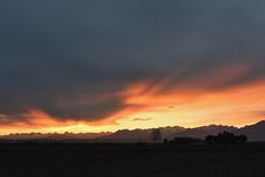 DSC_6908_gimp (STE) Tags: tramonto sunset cielo sky nuvole clouds