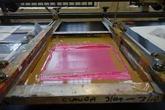 ACE Printing (sophiegibson-artist) Tags: sophie gibson sophiegibson screenprint dycp ace arts council england print printer ink